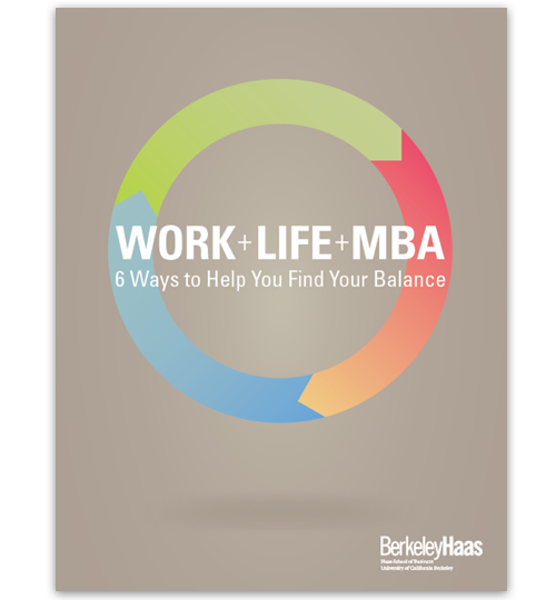 Balance Your MBA with Work and Life ebook cover